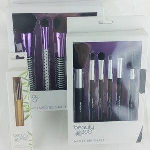 Bundle of Beauty360 Brushes NWT NIB